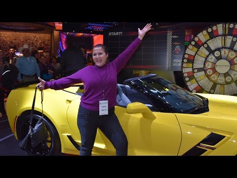 Win Corvette Grand Sport Convertible in March at San Manuel!