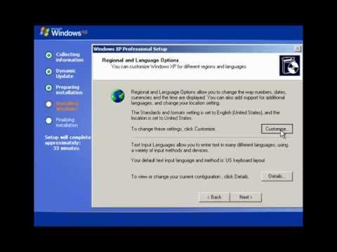 fdisk pour windows xp