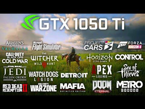 GeForce GTX 1050 Ti Test in 30 Games in 2020