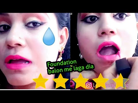 I WENT TO THE BEST REVIEWED MAKEUP ARTIST In DELHI INDIA| GONE WRONG🙆| HAIR ME FOUNDATION 😱😡