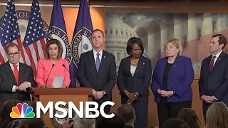 Nancy Pelosi Chooses Diverse, 'Talented' Team Of Litigators To Prosecute Trump | MSNBC