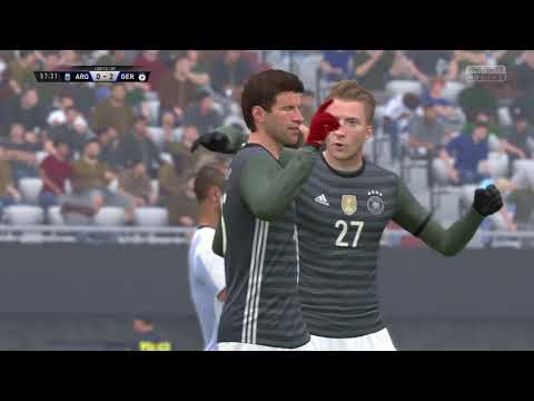 Fifa 17 GamePlay 3 Ultra Graphics...Awesome Match...(Germany vs Argentina)