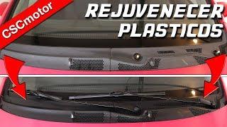 Renovar el color de los plásticos   Consejos