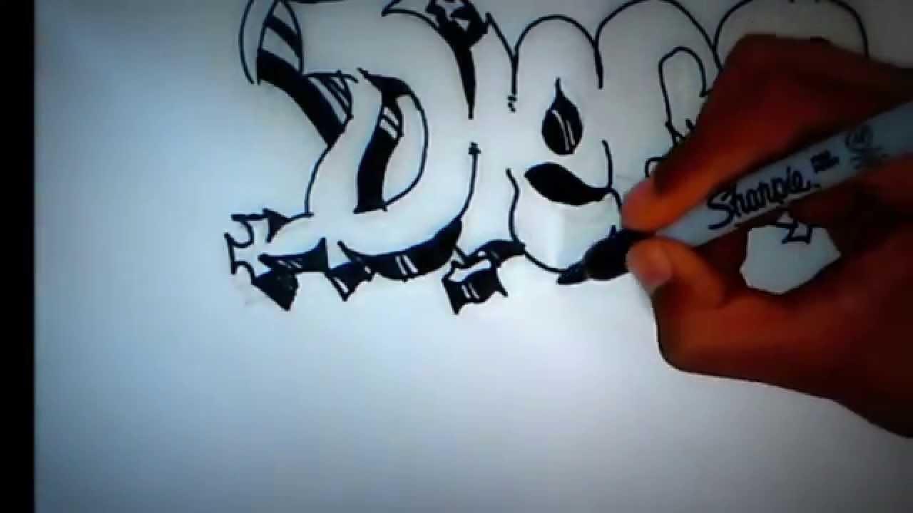 Extrêmement graffiti mi nombre - YouTube ED11