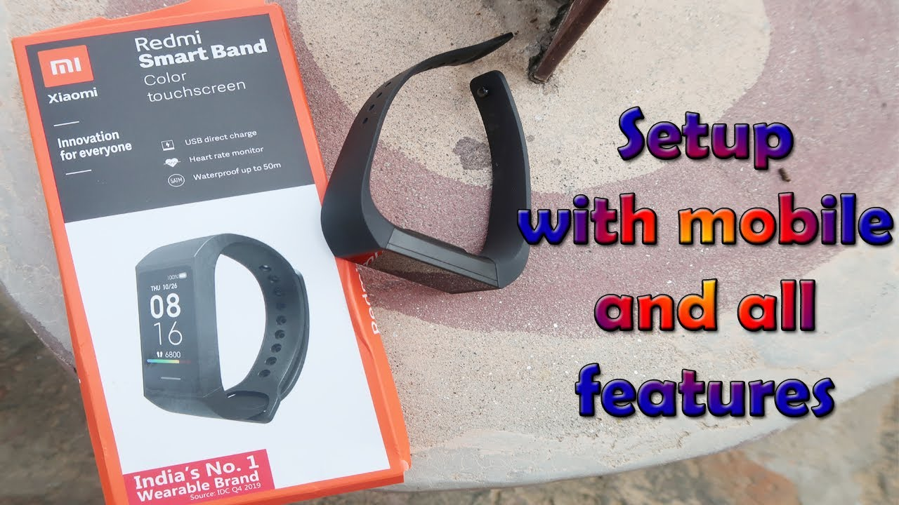 redmi smart band mobile se setup kaise kare settings full features detail video in Hindi