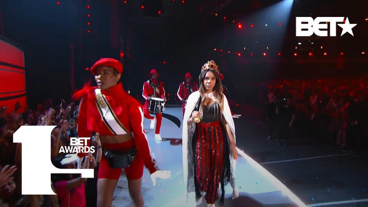 Host Regina Hall & Sugar Bear Perform