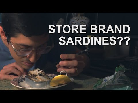 Canned Fish Files Ep. 3:  Lidl Sardines!