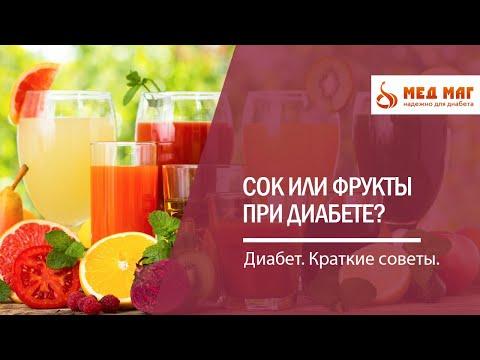 Сок или фрукты при диабете? Простое меню на завтрак для диабетика.