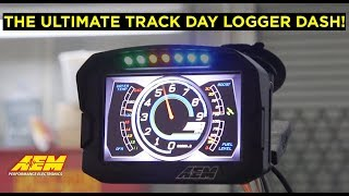 homepage tile video photo for The Ultimate Track Day Dash/Logger!