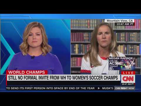 US Soccer Legend Brandi Chastain Says White House Visit Is 'Very Special'