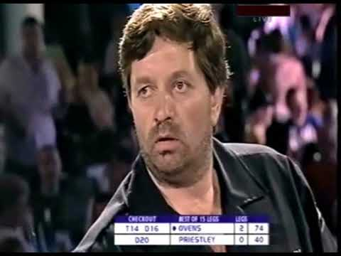 Dennis Priestley vs. Denis Ovens - Fourth Round - 2003 PDC UK Open