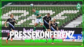 Sv werder bremen – dsc arminia bielefeld 1:0 | pressekonferenz nach dem dritten spieltag mit uwe neuhaus und florian kohfeldt. ► abonnieren/subscribe: http:/...