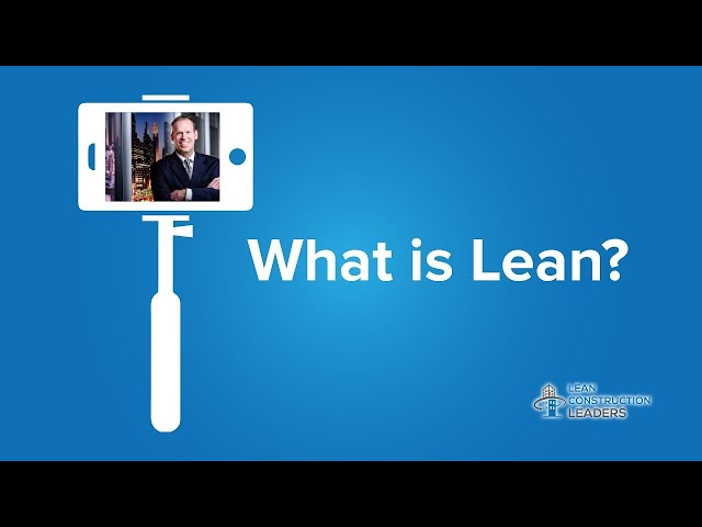 Bill Olson - What is Lean?
