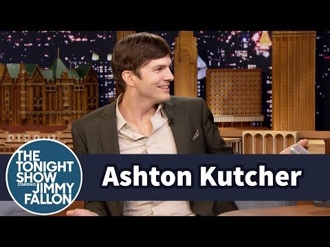 Ashton Kutcher Can't Stop Singing Moana