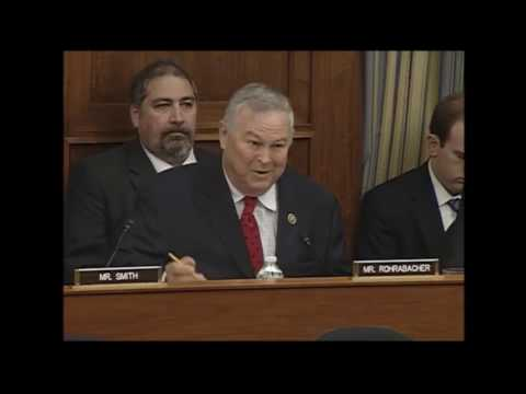 Rep Alan Grayson suggests Rep Rohrabacher test theory of no CO2 Hazards