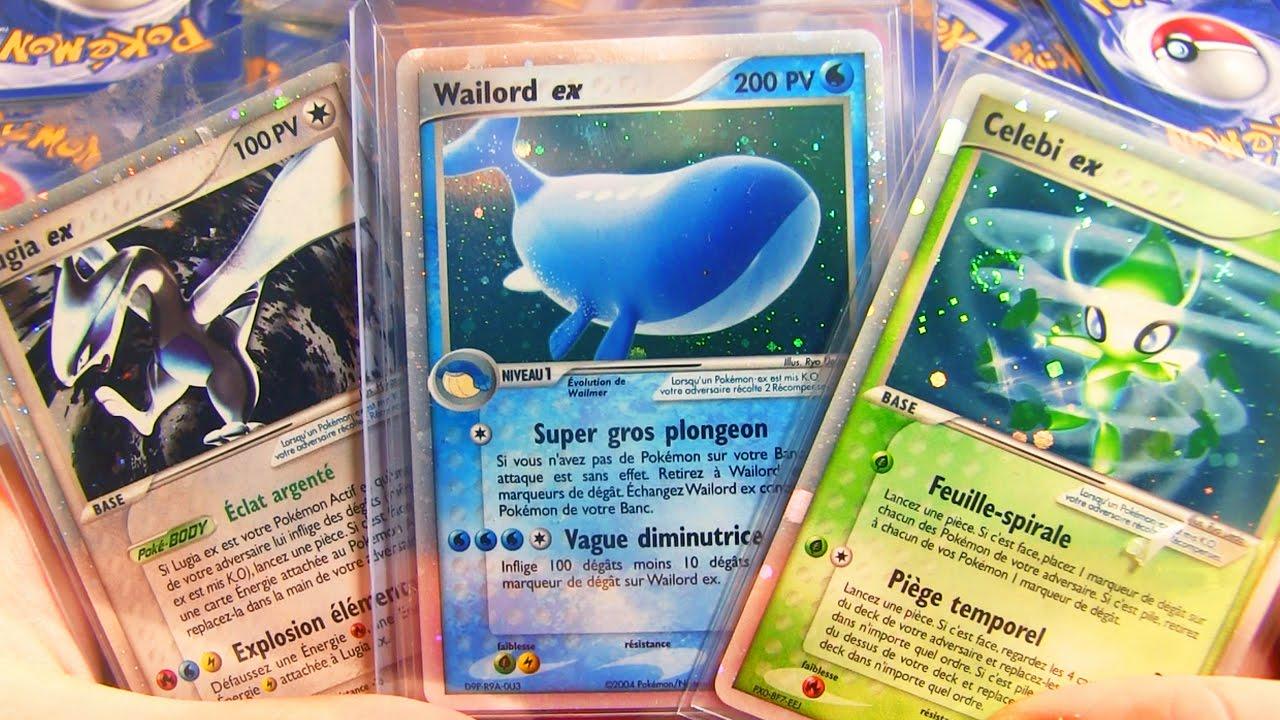 Les cartes pok mon ex de mon enfance les plus rares et cheres youtube - Tout les carte pokemon ex du monde ...