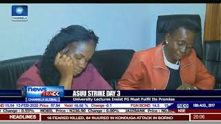 ASUU Strike Day 3: Senate Wants Lecturers To Consider Negotiation