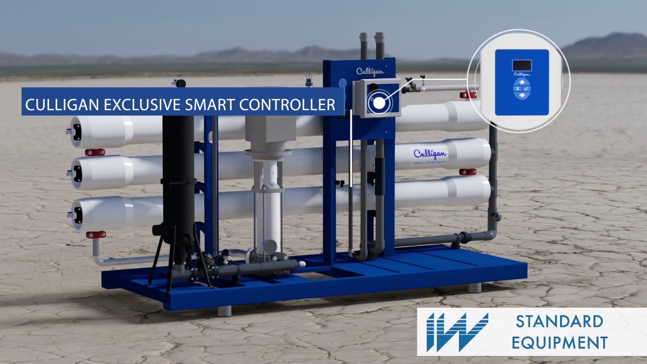 The Iw Industrial Water Reverse Osmosis System By Culligan