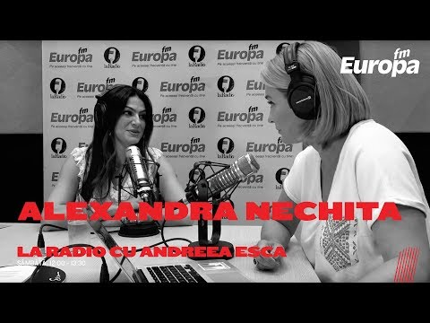 Alexandra Nechita, La Radio cu Andreea Esca
