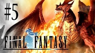 final fantasy i anniversary edition psp walkthrough parte 5 marsh cave boss astos hd ita
