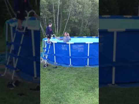 INTEX - Above ground pool instructional video part 4: From Pool to Eternity