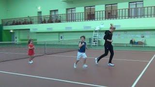 Разминка теннисиста. Видеоурок.