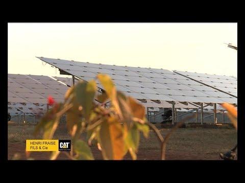 Centrale solaire à Belobaka - Sera Conseils