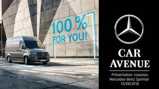 After Event Movie - The new Mercedes Sprinter (CarAvenue)