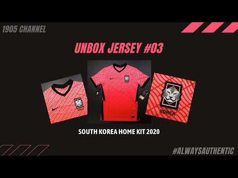 [UNBOX JERSEY #03] KOREA HOME KIT 2020