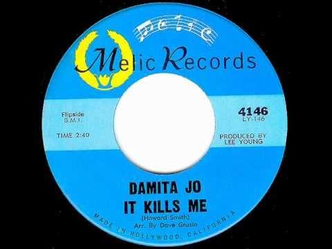 Damita Jo - IT KILLS ME (1964)