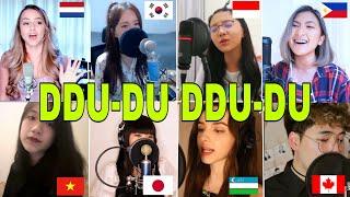 BLACKPINK - '뚜두뚜두 (DDU-DU DDU-DU) WHO SANG IT BETTER (vietnam,canada,philippines,indo,uzbek,japan)