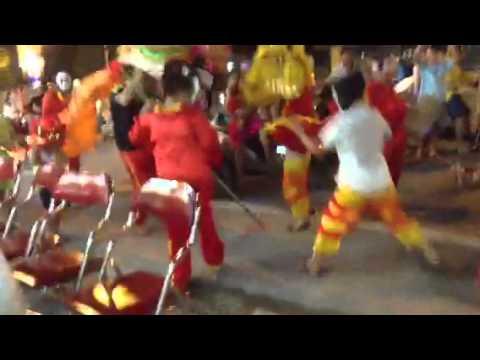 Múa Lân đêm trung thu 2014 tại Lucky Hạ Long