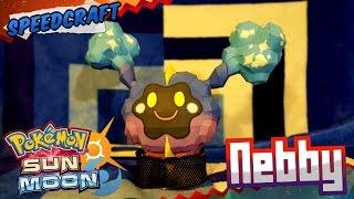 Pokemon Sun & Moon Papercraft ~ Nebby ~