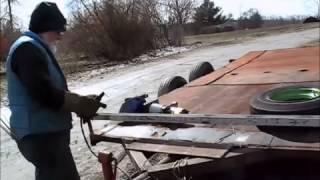 Car Trailer Winch Mount