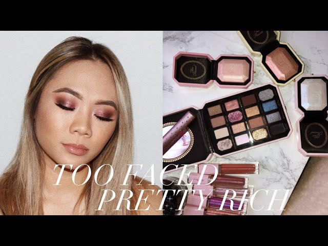 TOO FACED COSMETICS  PRETTY RICH HOLIDAY 2018 COLLECTION! | HELEN DUONG