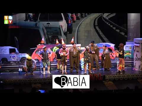 Los que se quedaron en el 90 Chirigota de Algeciras Carnaval 2020