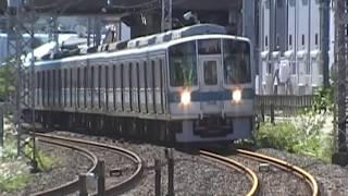 台風19号通過後小田急江ノ島線にて安全確認のための試運転を実施