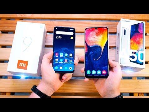 Xiaomi Mi 9 SE Vs Samsung Galaxy A50 - Сяоми УБИЛИ Самсунг? ЛУЧШИЙ смартфон до 20 000 РУБЛЕЙ