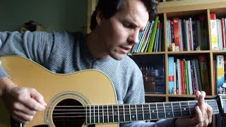 Big Fat Silver Aeroplane - Roy Harper (cover + guitar tutorial)