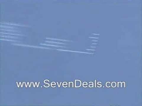 Dayton Air Show 2007 Brazilian Air Force Smoke Squadron