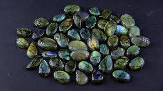 Великолепные лабрадоры из Индии.  Покупка камней в интернете. Распаковка и обзор