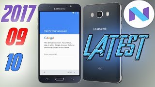 Remove Frp Samsung Galaxy J7 2016 Google Account Android 7 0