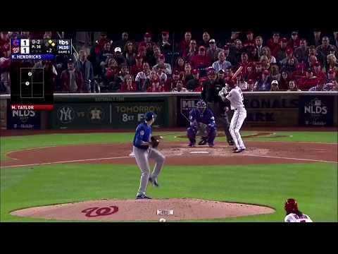 Michael Taylor Go-Ahead 3-Run Homerun vs Cubs | Nationals vs Cubs Game 5 NLDS