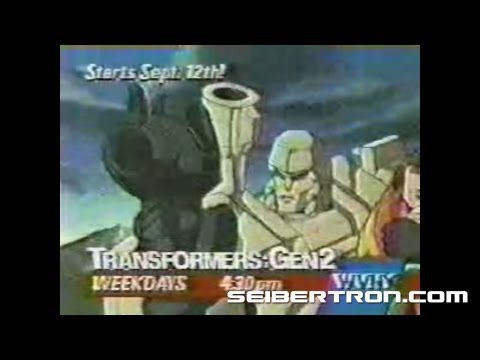 Transformers G2 Cartoon Commercial Generation 2 1993 #4