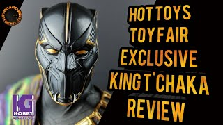 Hot Toys T'Chaka Black Panther #ToyFair #Exclusive Review