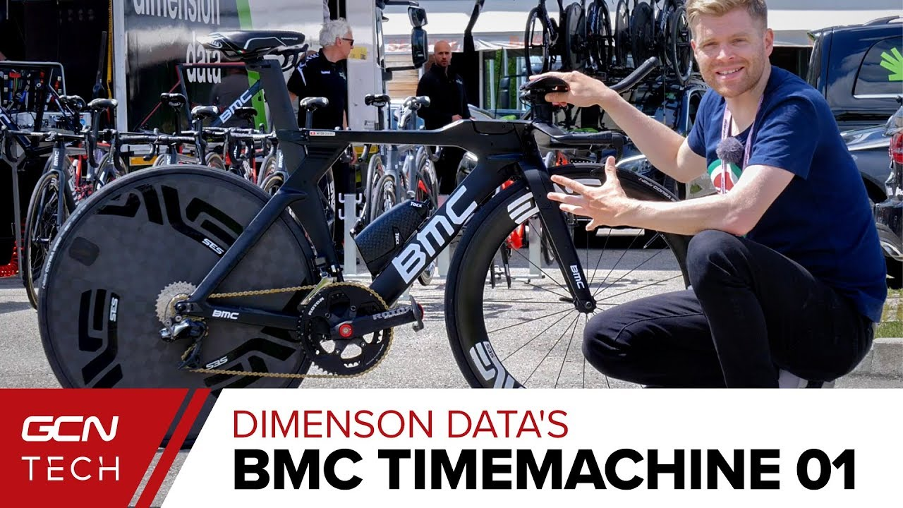 Download Team Dimenson Data's BMC Timemachine 01 Time Trial Bike | Danilo Wyss' Pro Bike