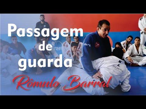 Jiu Jitsu - Passagem de guarda com Rômulo Barral - BJJCLUB - Everydayporrada