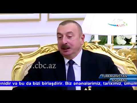 К итогам официального визита президента Азербайджана в Туркменистан