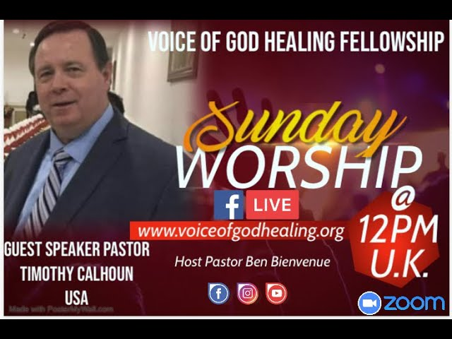 What is God's Purpose for Us here in our Earthly Journey Pastor Timothy Calhoun Sunday 24/1/2021