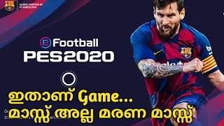 eFootball Pes 2020 Mobile Review | Best Game In History | Malayalam | Team Infinity